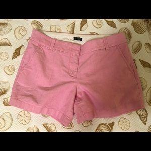 Pink j.crew shorts